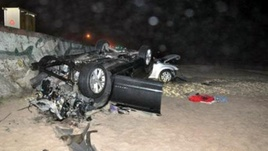 Galveston Seawall Car Accident